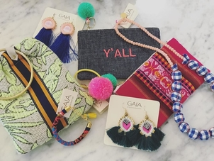 Y'ALL, get over here! GAIA Trunk Show happening now