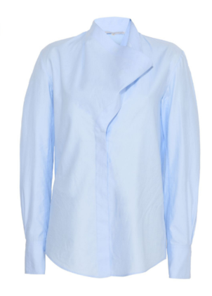 Stella McCartney Damiane Shirt in Oxford Blue Tops