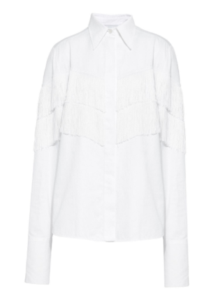 Stella McCartney Alina Shirt in Pure White Tops