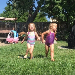 Trying to channel this spirit today.  My niece Willow & her friend Clair showing me #friendshipgoals & #weekendvibes Wish I could see these two cuties. #clairbear