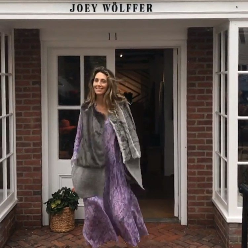 Meanwhile @shopjoeywolffer in Sag Harbor they were layering and boomeranging in 90 degree weather yesterday cause...why not?  Have you checked out the trunk show yet?  It's up through Aug 22nd!! Also peep sneak peeks...