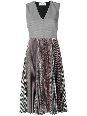 MSGM MSGM Pleated Dress Dresses