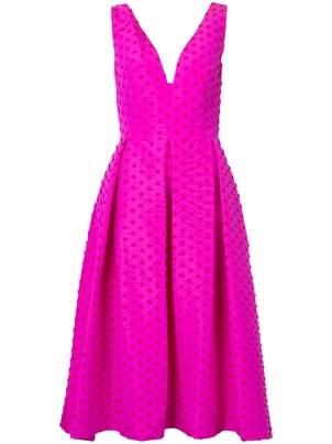 Lela Rose Lela Rose Pink Polka Dot Dress Dresses