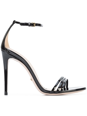 Gucci Gucci Black Strappy Sandals Shoes