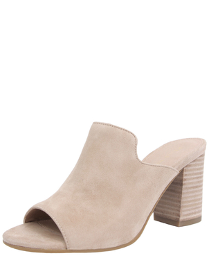 Pelle Moda Blair Suede Mule Shoes