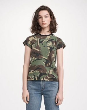 rag & bone Camo Tee Tops