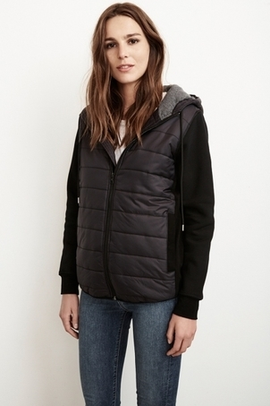 Velvet Christelle Hooded Puffer Jacket Outerwear