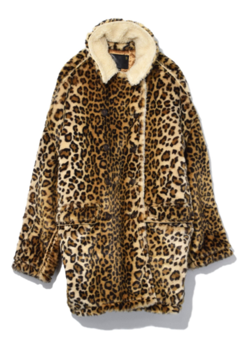 Leopard Hunting Coat in Leopard