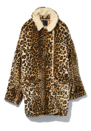 R13 Leopard Hunting Coat in Leopard Outerwear