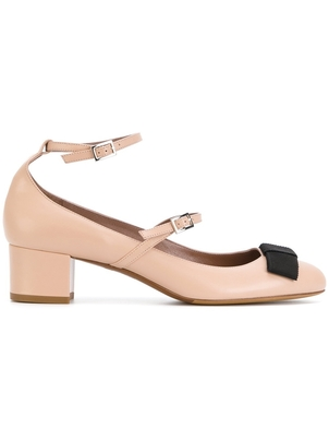 Tabitha Simmons Strappy Bow Pumps Shoes