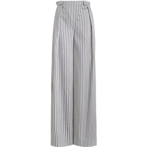 Zimmermann Striped Buckled Trousers Pants