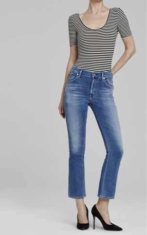 Citizens of Humanity Cropped Fleetwood Flare Pants