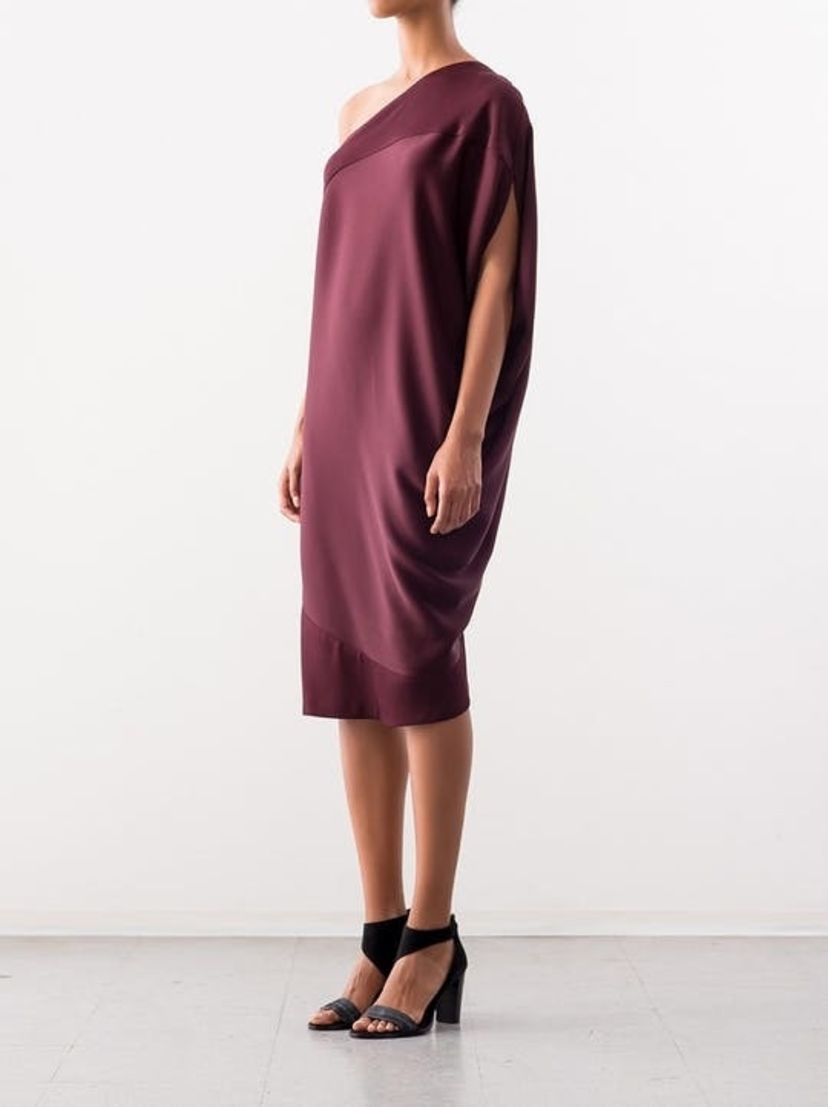 Zero + Maria Cornejo Off Shouler Lui Dress Dresses