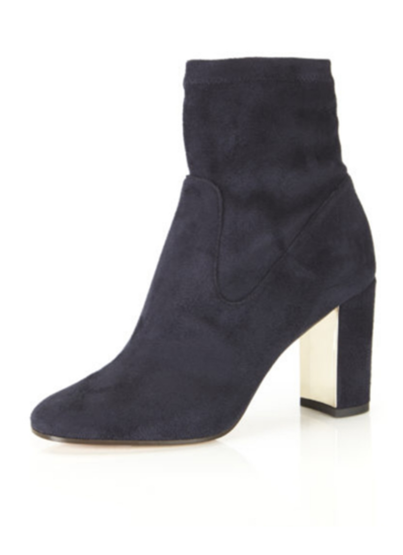 Marion Parke Kate Boot in Navy Shoes Tops