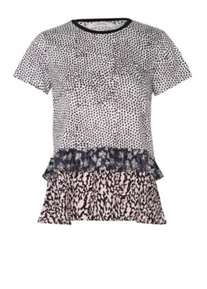 Dorothee Schumacher Tribal Mix Tee Tops