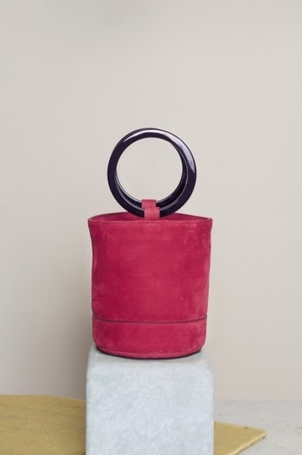 Simon Miller Bonsai Bag in Ruby Pink Bags