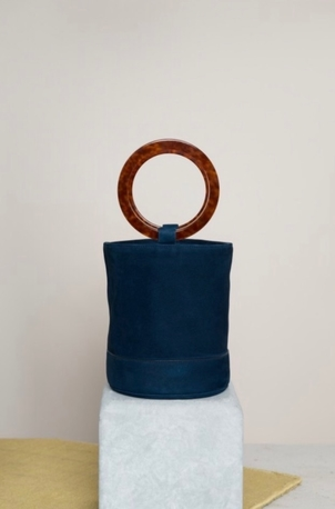 Simon Miller Bonsai Bag in Smoke Blue Bags