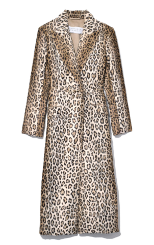 Gabriela Hearst Ellis Coat in Leopard Outerwear