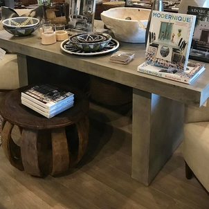 indoor/ outdoor dining table Home decor