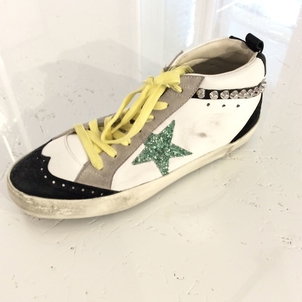 Golden Goose Deluxe Brand Sparkles and Studs Shoes