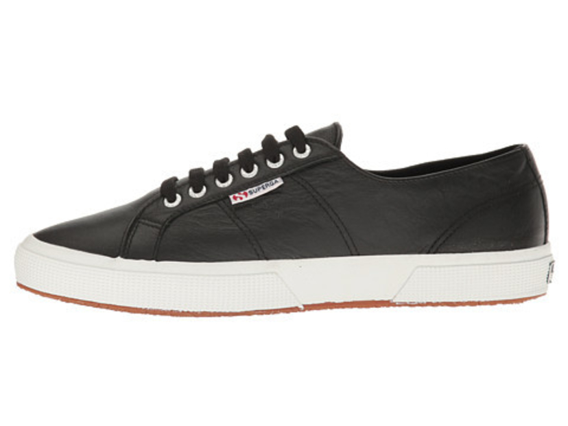 Superga Superga Black Leather - 2750 Sneaker Shoes
