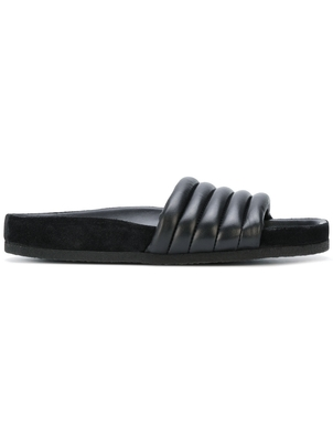 Isabel Marant Étoile Black Slides Shoes