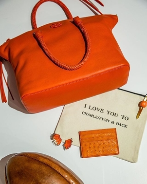 Mignonne Gavigan Taxidermy Tory Burch Orange is the new Black Bags Jewelry