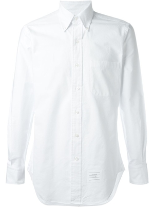 Thom Browne CLASSIC WHITE BUTTON DOWN OXFORD Men's