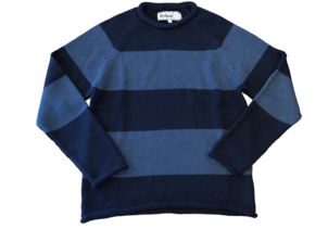 Mollusk Mollusk Stripe Fisherman Sweater Men's