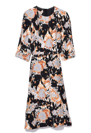 Marni Short Sleeve Dress in Tangerine Dresses
