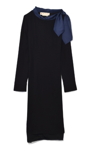 Marni Long Sleeve Dress in Black Dresses