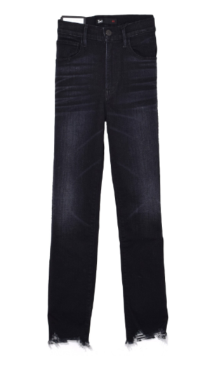 3x1 Straight Authentic Crop Jean in Shake Pants