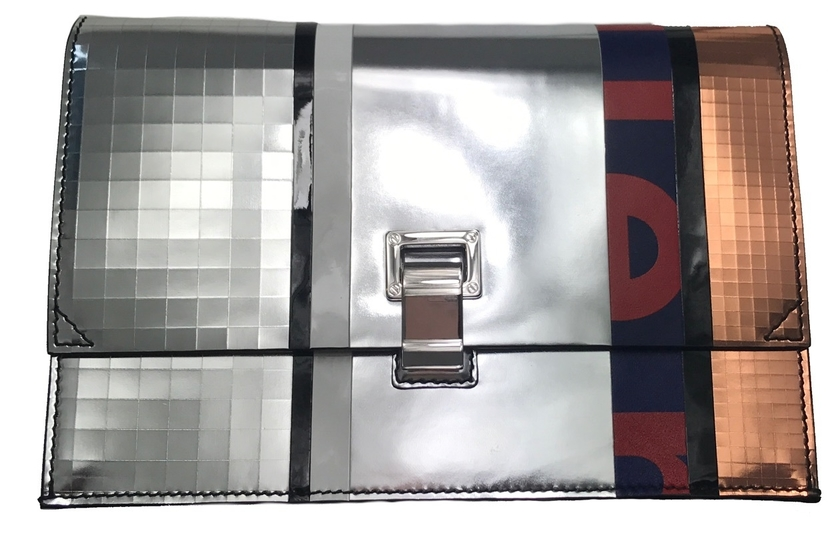 Proenza Schouler Small Metallic Disco Clutch Bags