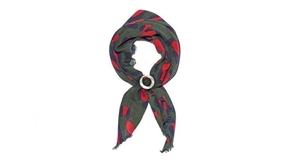 Lizzie Fortunato Lizzie Fortunate Spot Scarf with Marble Slider Accessories Jewelry