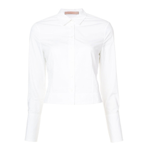 Brock Collection White Tricia Top Tops