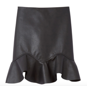 Rebecca Taylor Rebecca Taylor Vegan Leather Skirt Skirts