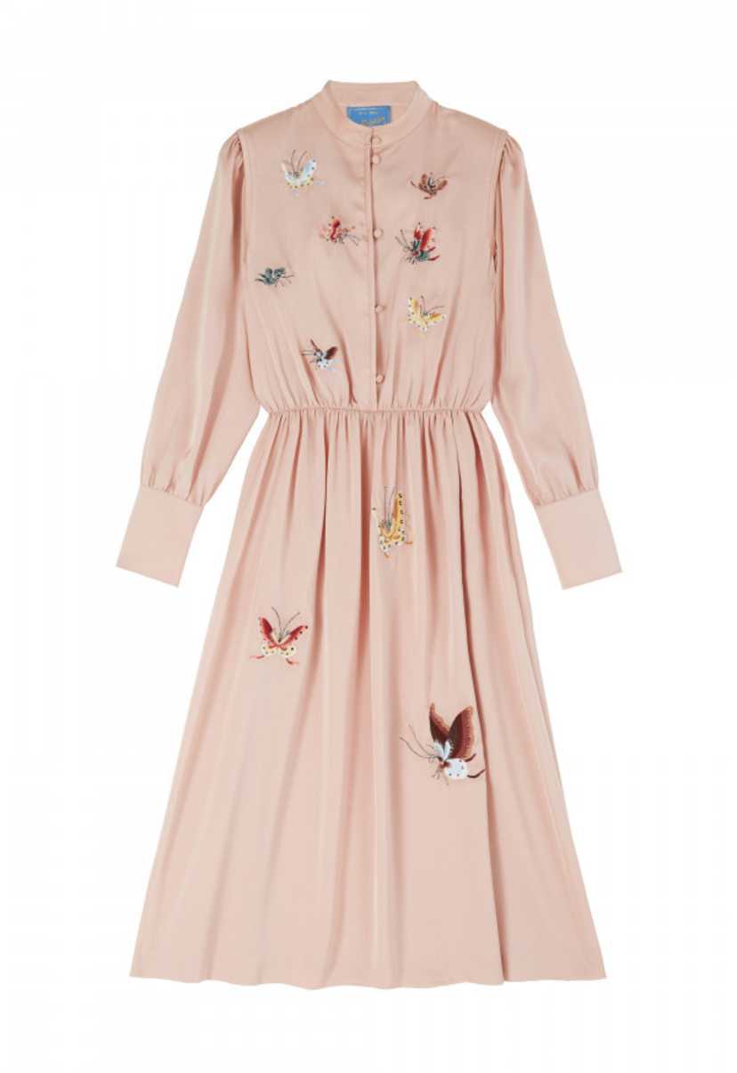 M.i.H Turner Dress in Moon Pink