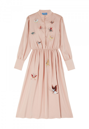 M.i.h Jeans M.i.H Turner Dress in Moon Pink Dresses