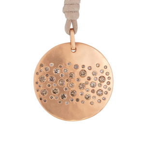 LJ Cross Rose Gold Constellation Necklace Jewelry
