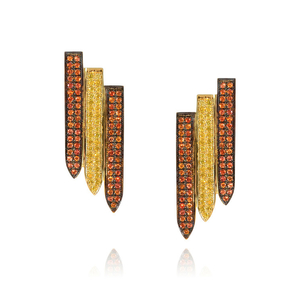 Ralph Masri Sacred Windows Earrings Jewelry