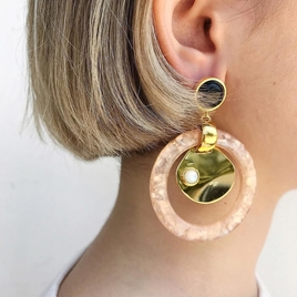 LIZZIE FORTUNATO SUN WASHED EARRINGS