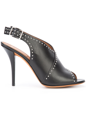 Givenchy Studded Peep Toe Sandal Shoes