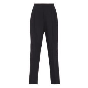 Delpozo Pleated High-Rise Trousers Pants