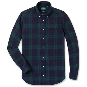 Gitman Vintage GITMAN BLACKWATCH FLANNEL Men's