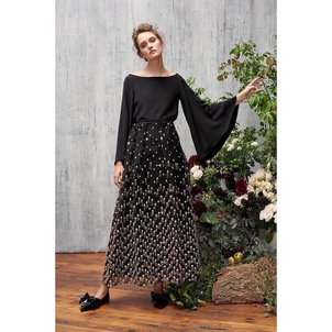 AUDRA Falling Star Tinsel Bell Skirt and Swing Sleeve Top Skirts Tops
