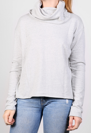 the lady  & the sailor Oversized Turtleneck Tops