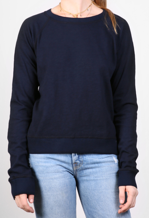 the lady  & the sailor Knit Band Sweatshirt – Japanese Cotton Tops