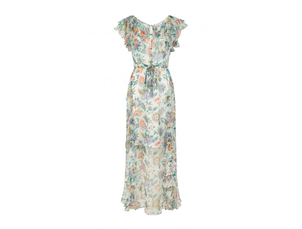 Alice McCall Oh Oh Oh Maxi Dress in Ivory Garden Dresses
