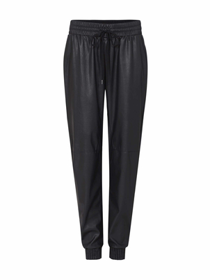 Rebecca Taylor Rebecca Taylor Vegan Leather Track Pants Pants
