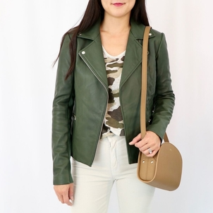 Veda Dallas Orion Jacket in Money Green Outerwear